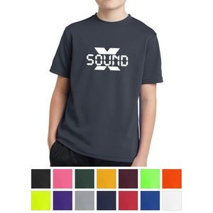 Sport-Tek® Youth PosiCharge™ RacerMesh® Tee