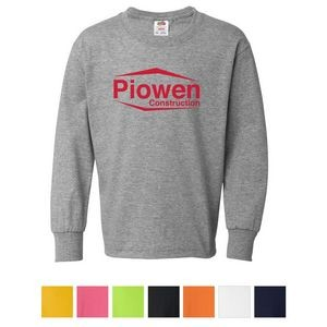 Fruit of the Loom® Youth HD® Long-Sleeve T-Shirt